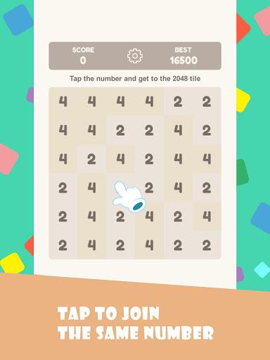 Tap 2048 - worldwide poplar game apkdebit screenshots 10