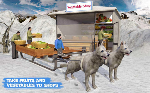Snow Dog Sledding Transport Games: Winter Sports 1.4 screenshots 8