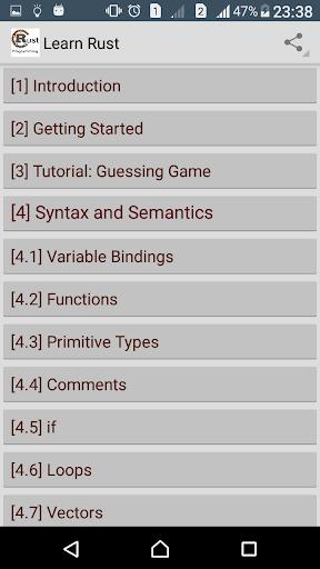 Learn Rust Programming Pro screenshot 1