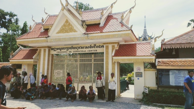 The entrance to the Killing Field