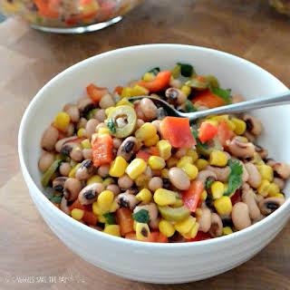 Black-Eyed Peas and Corn Salad.