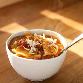 Vegan Lasagna Soup.