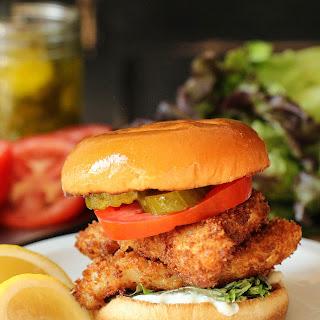 Fantastic Fried Fish Sandwich.