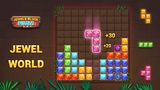 Block Puzzle – Jewels World 6