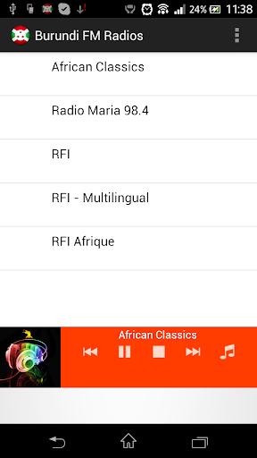 Burundi FM Radios