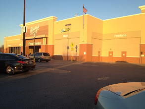 Photo: Arriving at the store. It was a busy weekend at Walmart, but we got a space up front. I didn't have any coupons this time nor did I look to see if I had one... Candy is cheap so I figured I wouldn't bother!  I had all my kiddos and my hubby with me... we are used to shopping here together!