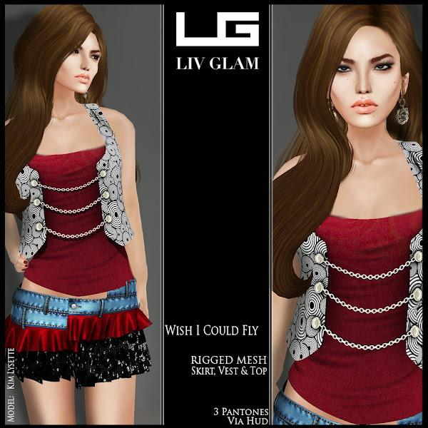 Photo: LivGlam http://slurl.com/secondlife/Ishel%20Down/164/115/3000