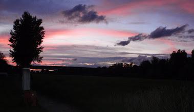 Photo: Der Himmel über dem CP Mannheim