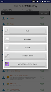 Message and Call Tracker 4