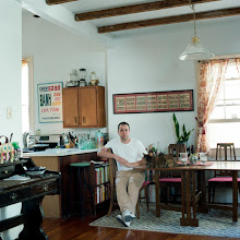 Photo: title: Brett Martin, New Orleans, Louisiana date: 2012 relationship: friends, art, met at Hampshire College years known: 20-25