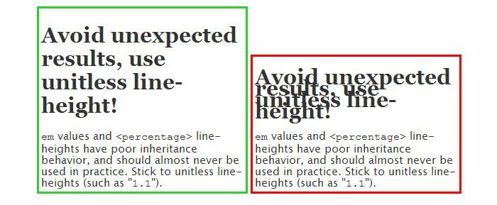 line-height Legibility And Readability - Principles That Shouldn't Be Ignored When Designing