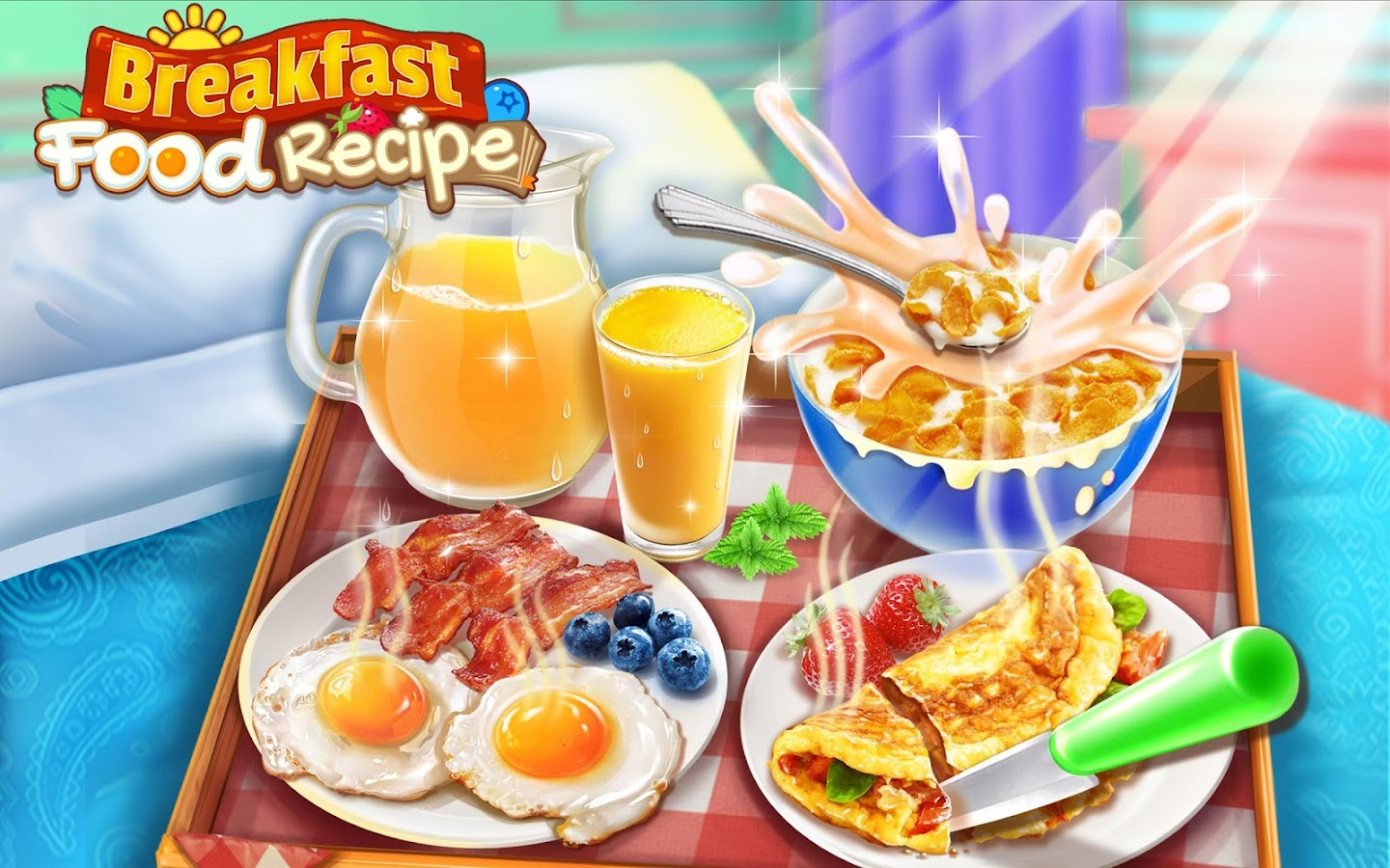 Screenshots of Breakfast Food Recipe! for iPhone