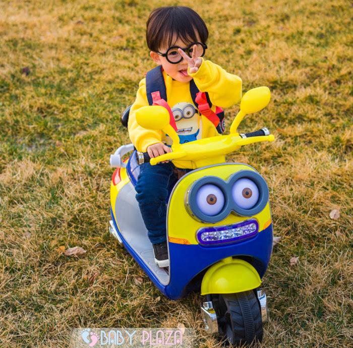 xe máy điện cho bé trai 4