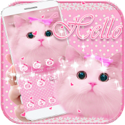 Cute Kitty theme Pink Bow Kitty