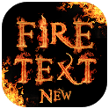 Fire Name Text Art (Stylish Fire Name Maker) icon