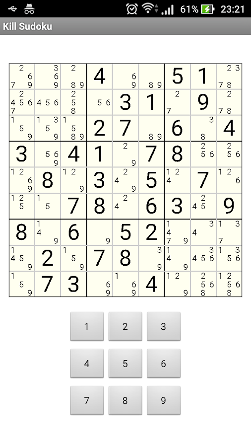 Kill Sudoku Step by Step- screenshot