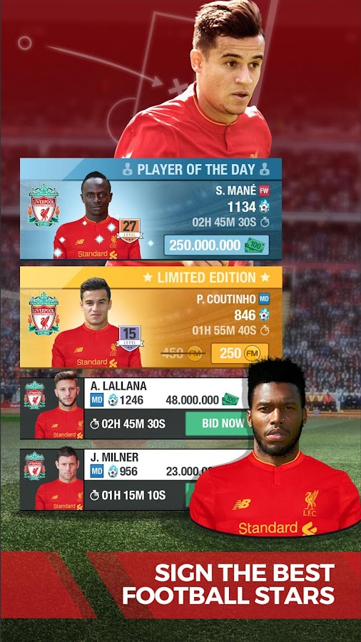 Liverpool FC Fantasy Manager17- screenshot