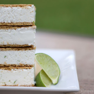 Key Lime Pie Ice Cream Sandwiches