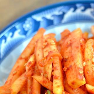 Mu Saengchae (무생채) Spicy Shredded Radish