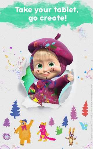 Masha and the Bear: Free Coloring Pages for Kids 1.0.3 screenshots 23