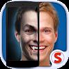 Scanner visage Vampire Monstre
