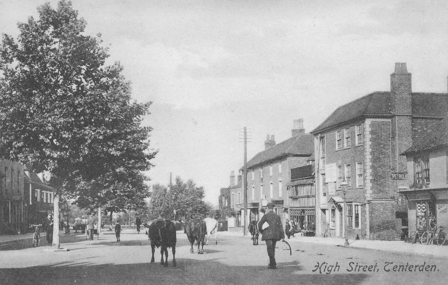 Tenterden Archive photos Lemon Tree to Recreation Ground Road Tenterden High Street