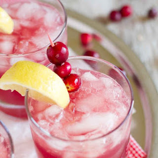 Sparkling Cranberry Punch.