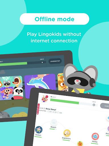 Screenshot for Lingokids - English for Kids in Hong Kong Play Store