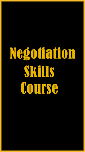 Negotiation Skills Course - náhled