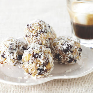 Oatmeal, Rum Raisin and Tahini Balls