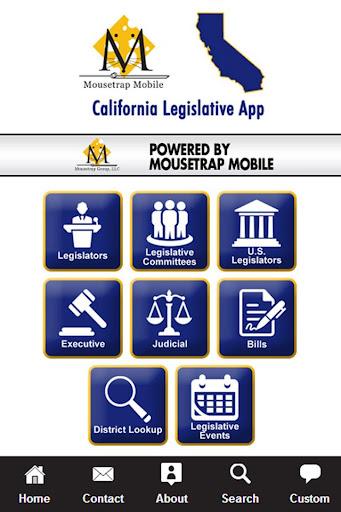 California Legislative App