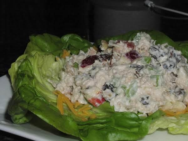 Crunchy Waldorf Salad With Tuna