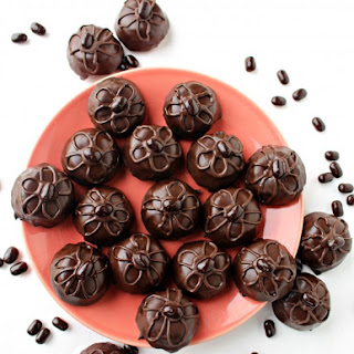 Flourless Mocha Brownie Bites