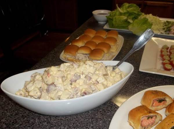 Dee's Tri Colored Potato Salad Recipe