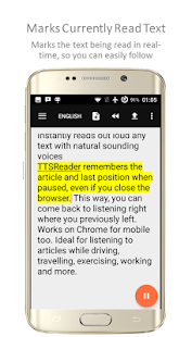 TTSReader Pro - Text To Speech- screenshot thumbnail