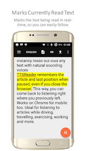 TTSReader Pro - Text To Speech