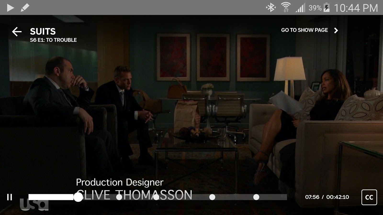USA Network- screenshot