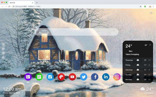 Villa New Tab Page HD Top Wallpapers Themes