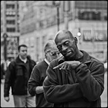 Photo: 6th Avenue, NYC #streetphotography #blackandwhitephotography  www.leannestaples.com