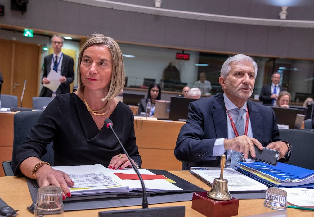 Federica Mogherini - Consiglio Difesa - photo credit: European Union
