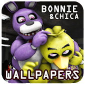 FNAF Wallpaper: Bonnie & Chica