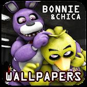 FNAF Wallpaper: Bonnie & Chica