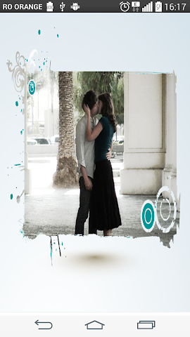 android Blue label Photo Frames Screenshot 1