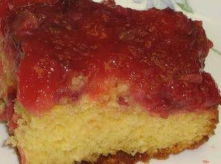 Pineapple Strawberry Banana Upside Down Cake Recipe