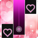 Heart Piano Tiles Pink icon