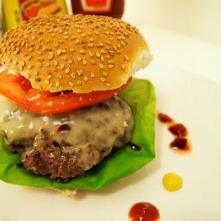 Homemade Southwest Burgers