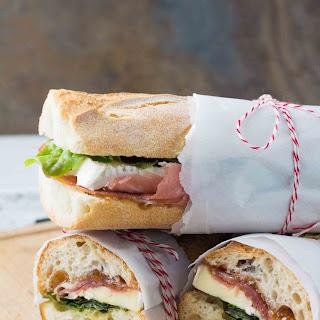 Prosciutto and Brie Sandwich with Fig Orange Spread Recipe