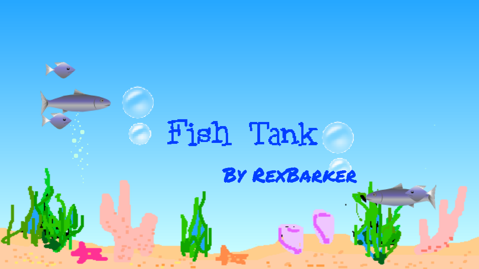 Fish Tank- screenshot