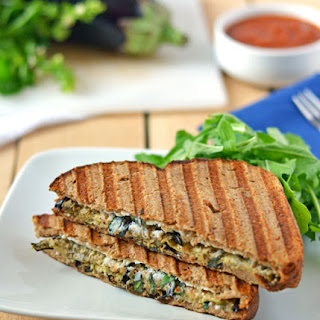 Eggplant Ricotta Grilled Cheese