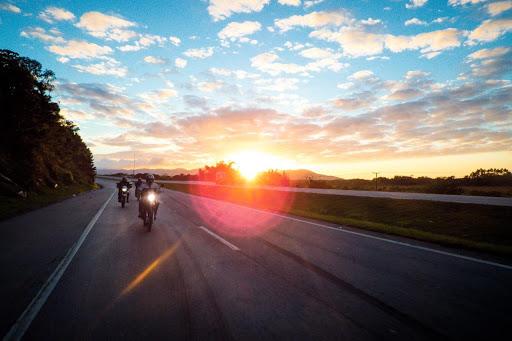 La moto en Italie les 5 terres